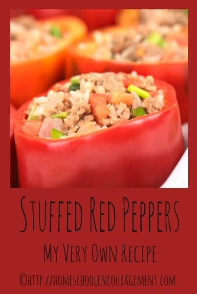 Do you like stuffed red peppers?  I do and created my own recipe.  I'd love for you to click over so I can share it with you.