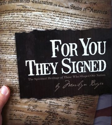 Book Review: For You They Signed by Marilyn Boyer