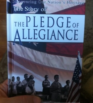Book Review:  The Story of the Pledge of Allegiance by John Hudson Tiner