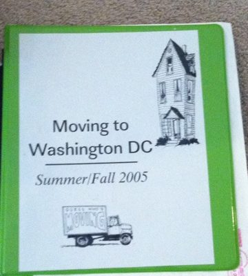 Getting Ready For A Move Part Five:  The Notebook