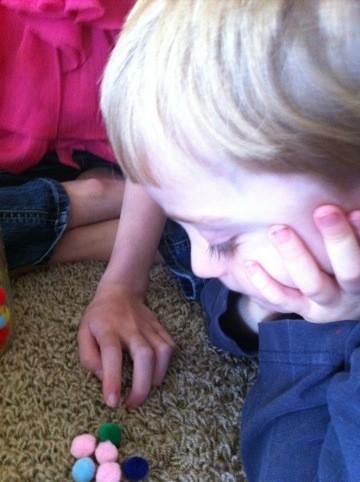 Fine Motor Skills and Children: The Pom Poms