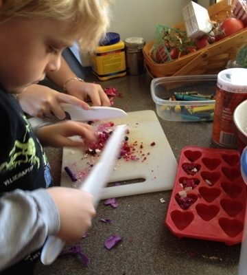 Top Ten Lessons Learned about Making Crayons (Shape Molds)