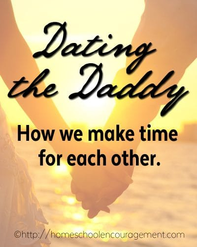 Dating your spouse - making your husband and marriage a priority.