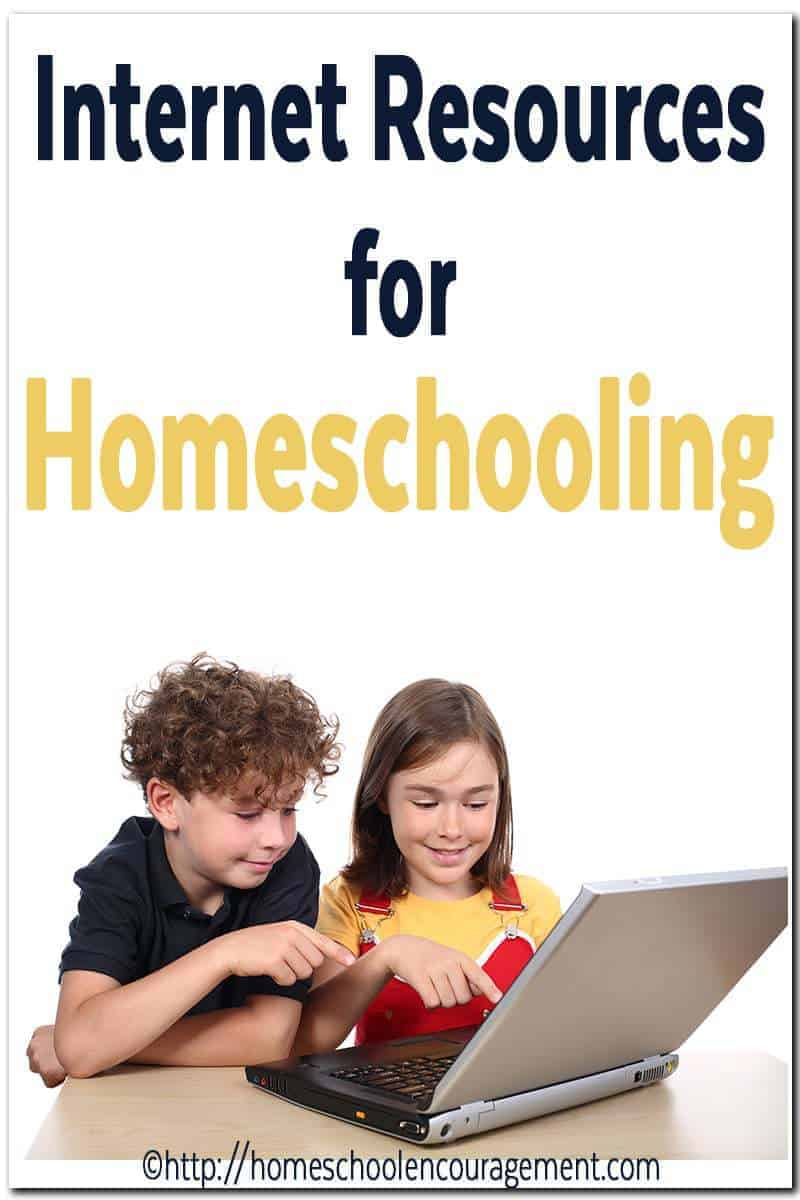 Internet Resources for Homeschooling Online Now
