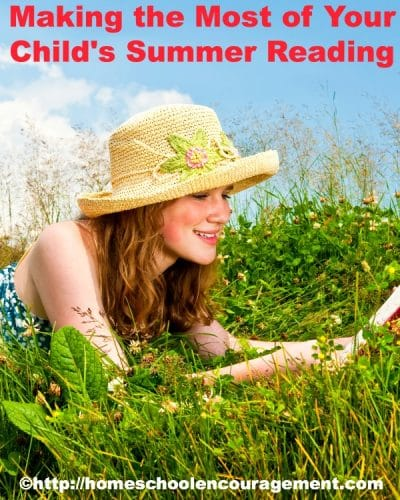 Use this simple idea to make the most of summer reading. #homeschool