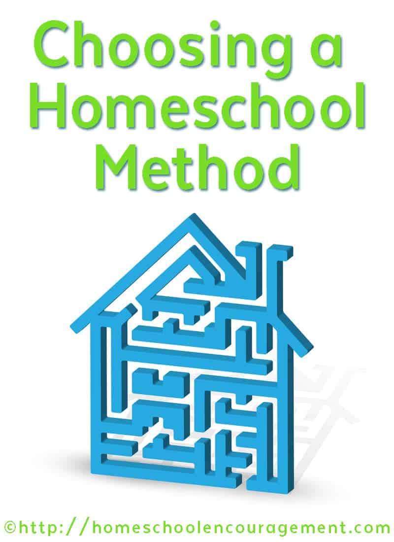 Whether you are new to homeschooling or a seasoned homeschool mom, it's important to choose a method that works for you. Take a look at our list of methods and find one that's right for you.