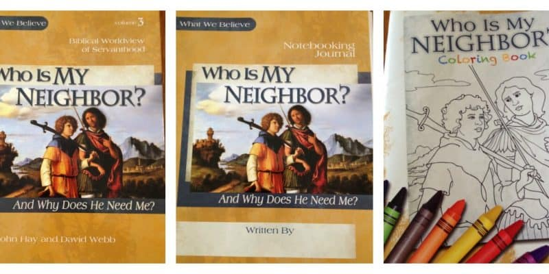 Curriculum Review:  Who Is My Neighbor by Apologia Ministries