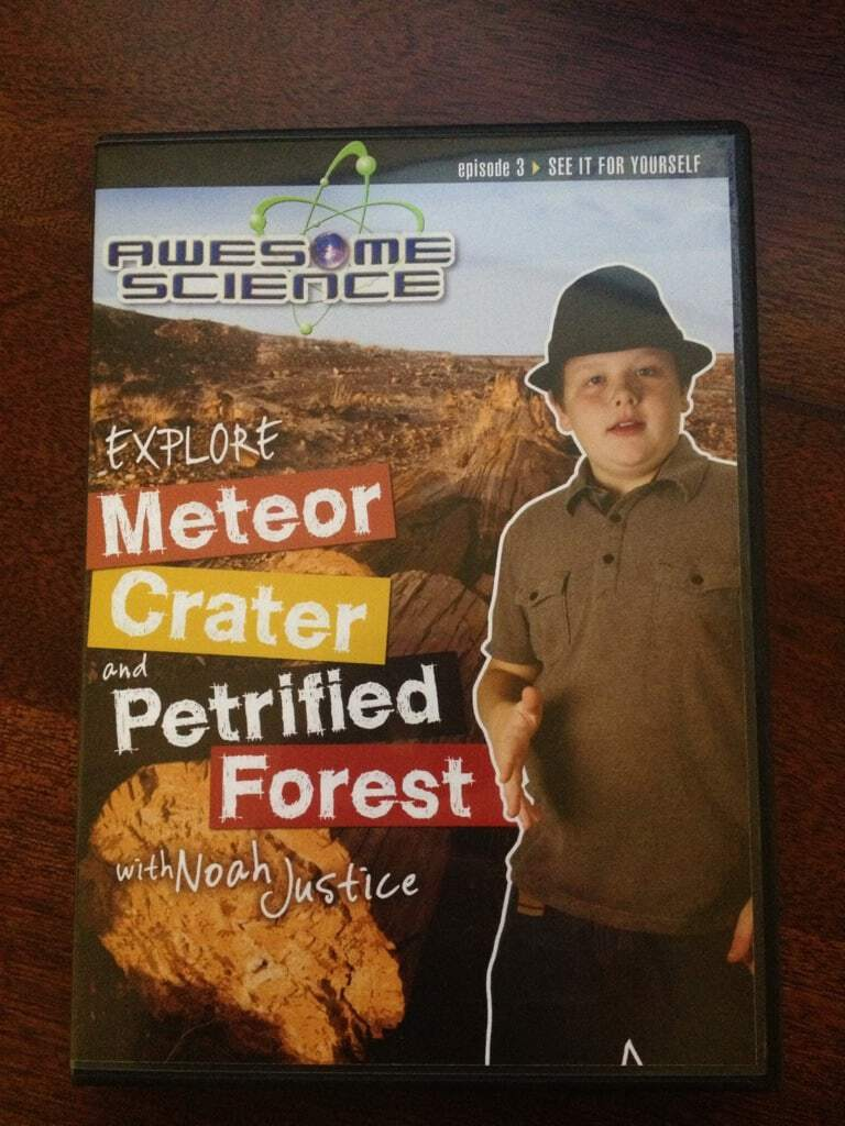 Awesome Science DVD Explore Meteor Crater and Petrified Forest