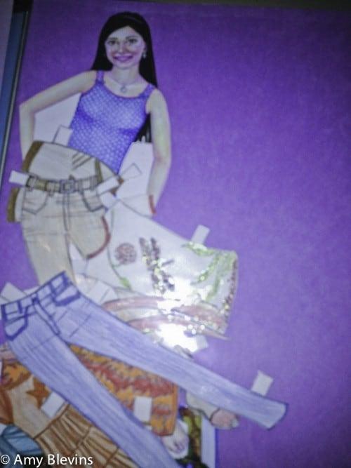 Isabel's Closet Paper Dolls