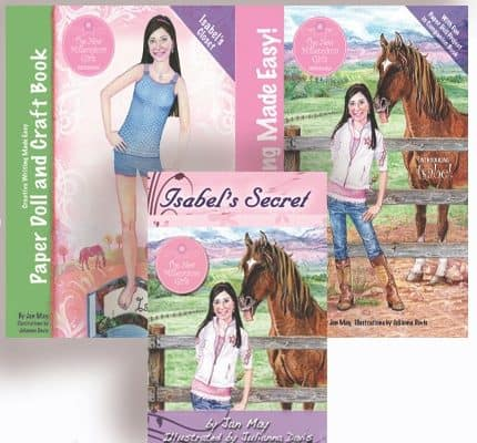 Curriculum Review:  Creative Writing Made Easy with Isabel's Closet and Isabel's Secret by Jan May
