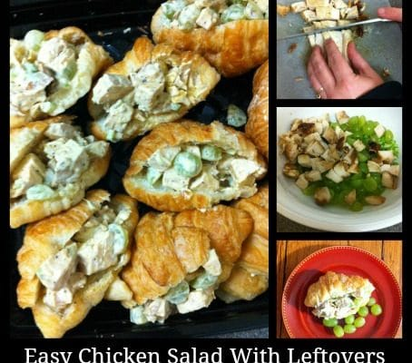 Easy Chicken Salad With Leftovers