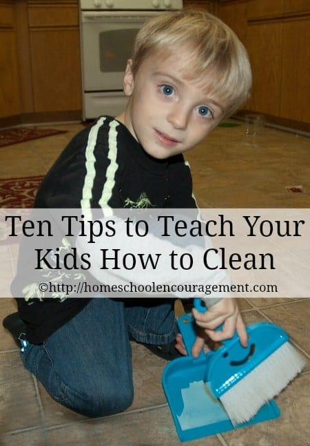 Having your children help you clean may not give you the cleanest house but it will give you help around the house. Take a look at these 10 tips to teach your kids to help you clean.