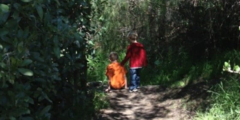 George's Canyon Hike with Children