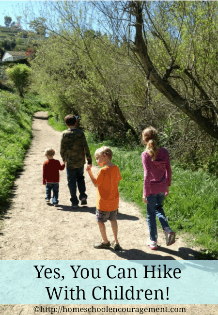 Did you hike before kids but shy away from it now? Hiking with children is a great way to build family unity, teamwork, and an appreciation for God's creation. Take a look at how we enjoy hiking as a family.