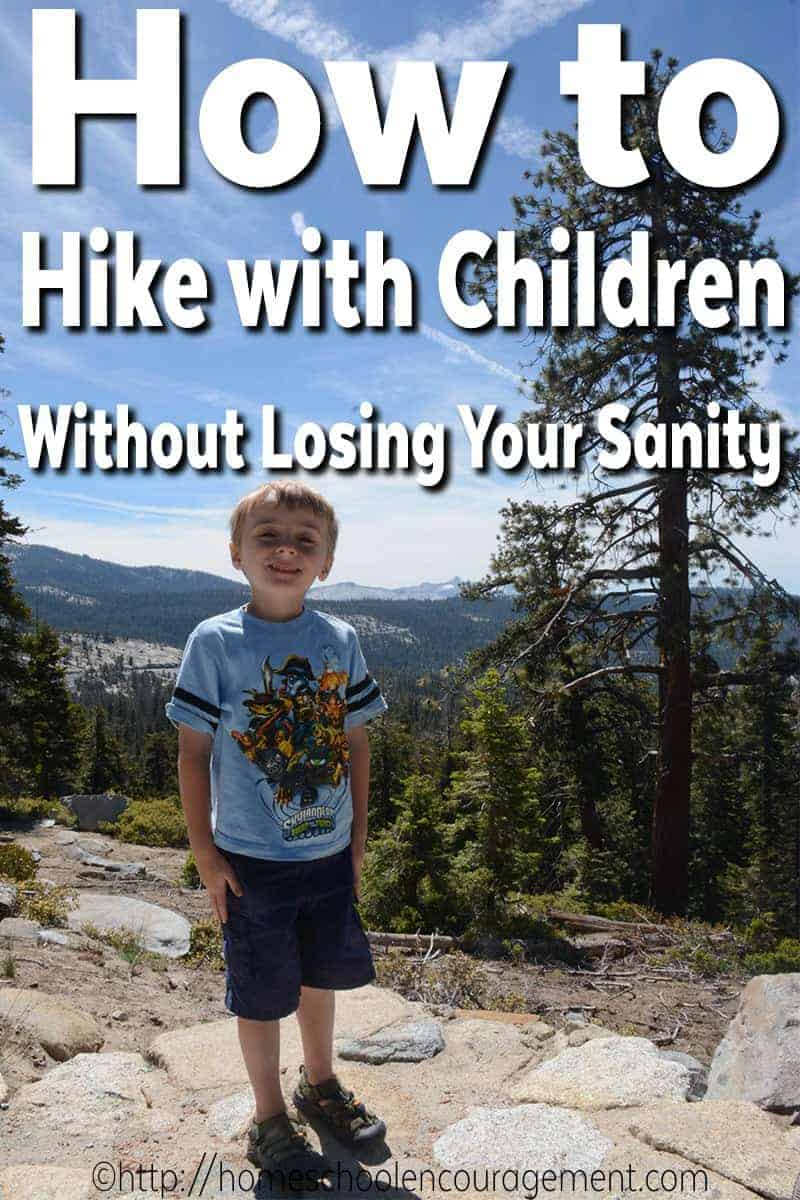 How to Hike with children, without losing your sanity. Hiking with Kids.