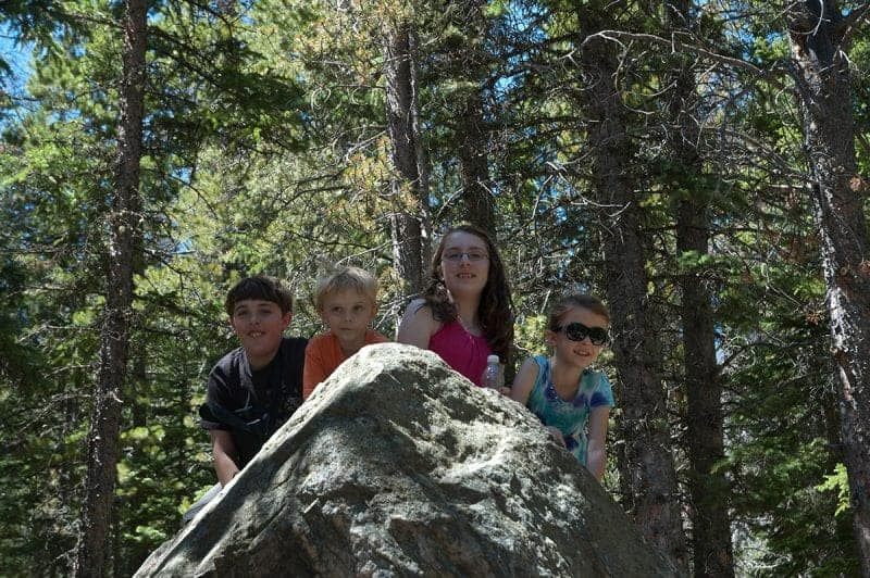 Hiking with Kids and Letting them Climb