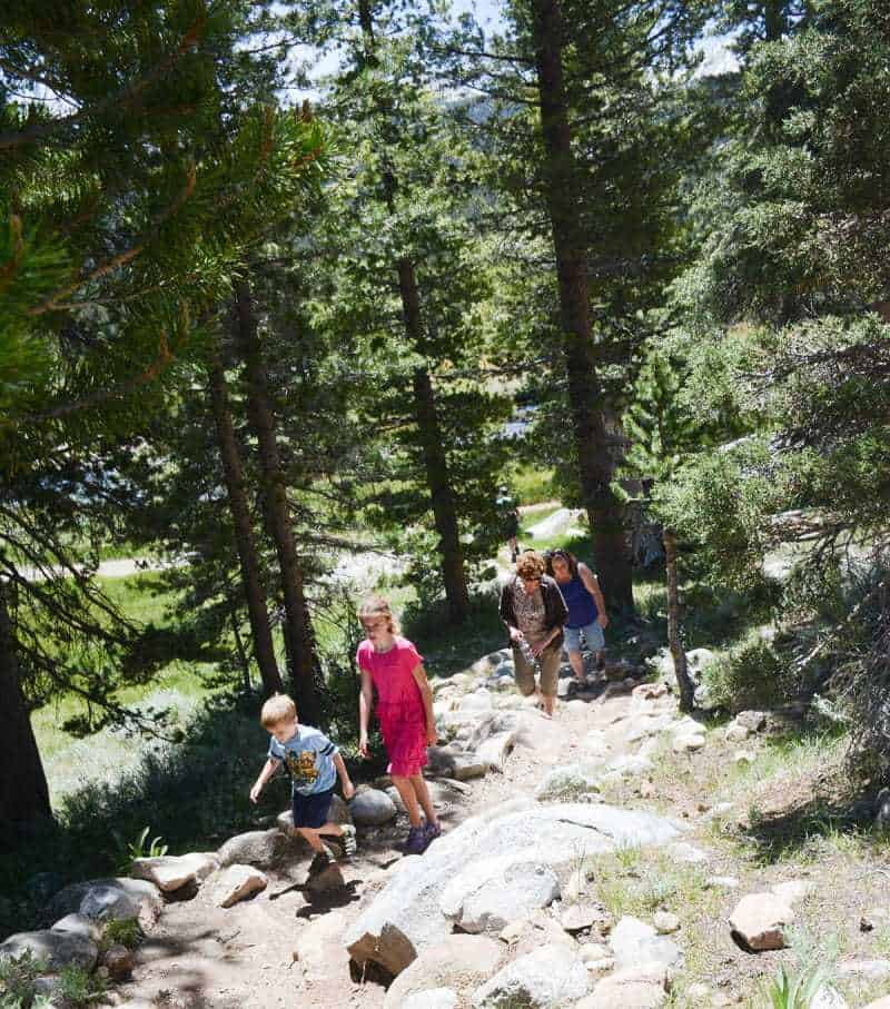 Hiking with Kids on Difficult Trails