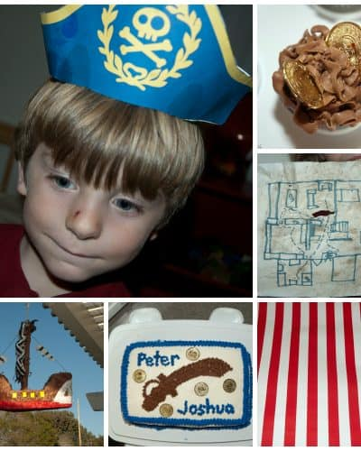 Pirate Party Birthday Age 4