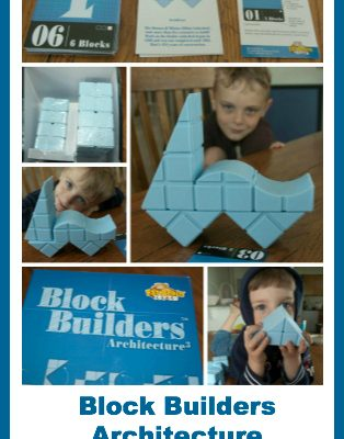 Product Review:  Block Builders Architecture by Fat Brain Toys