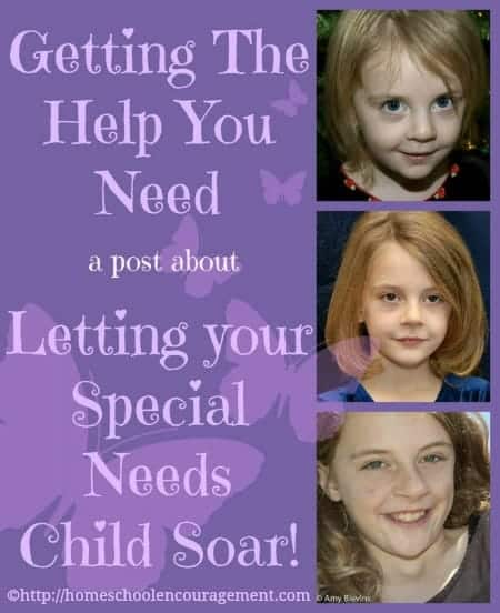 Do you have a child with special needs? If you do, take some advice and get the help you need early. You will be glad that you did as you see your child soar.
