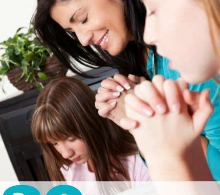 20 Ways to Build a Legacy of Prayer in Your Home from #Homeschool Encouragement #HSencouragement