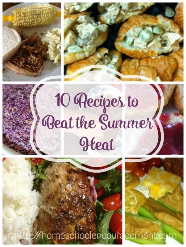 10 Recipes to Beat the Summer Heat