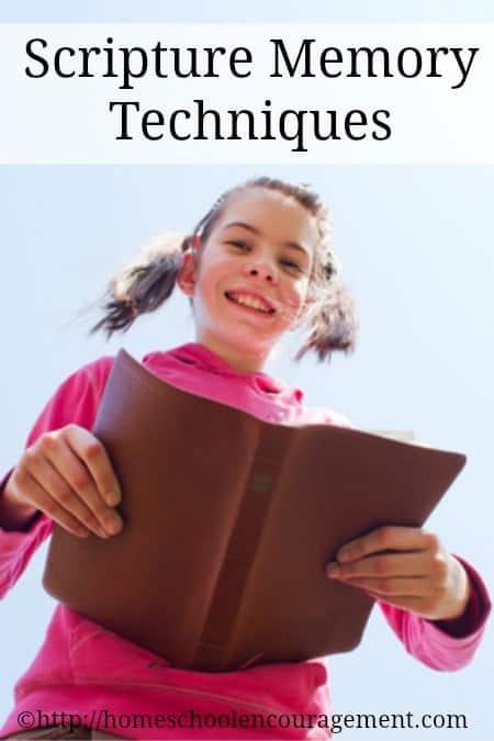 Scripture Memory Techniques
