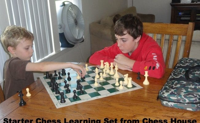 Product Review:  Starter Chess Learning Kit by Chess House