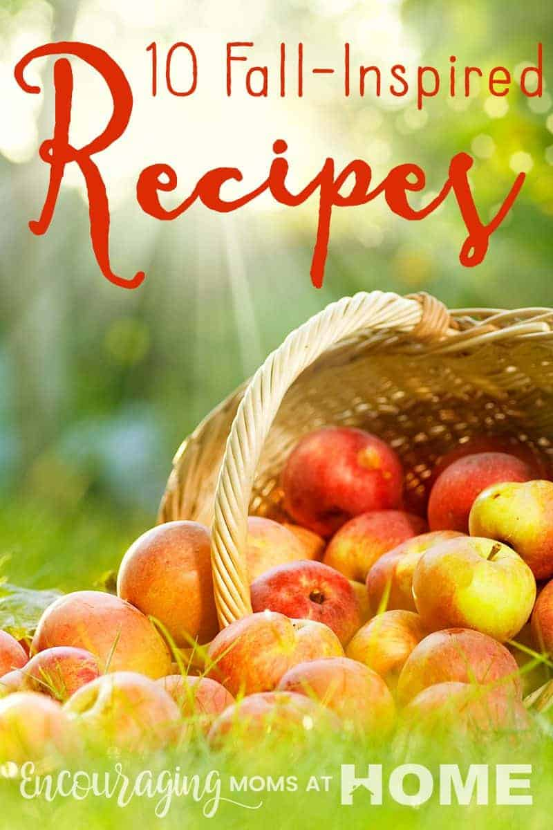 Is cooking in the fall especially fun for you?  Maybe it's a tradition?  Take a look at these fun all recipes to enjoy this fall.