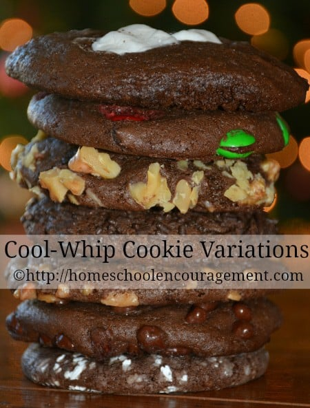 Cool Whip Cookie Ingredients and variations. Recipe with free printable. Coolwhip cookies
