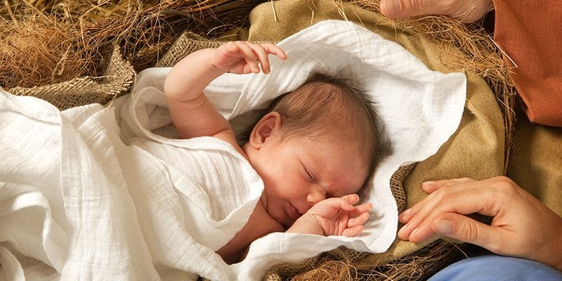 Christ is Born - Keeping Christ in Christmas Ideas