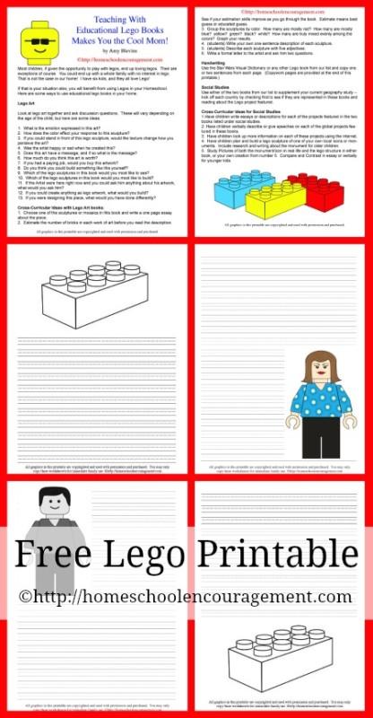 Educational Lego Books