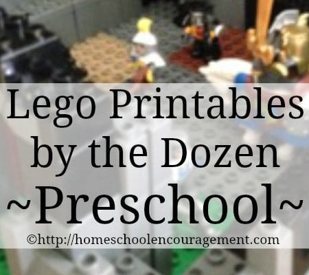 LEGO Fans? I've Found Free LEGO Printables By the Dozen!