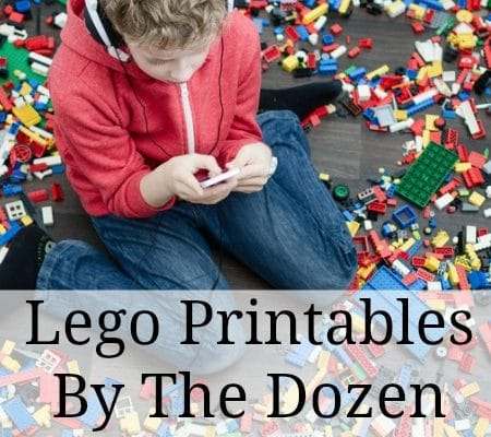 Free LEGO Printables for Upper Elementary