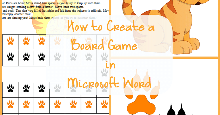 How to Create a Board Game in Microsoft Word