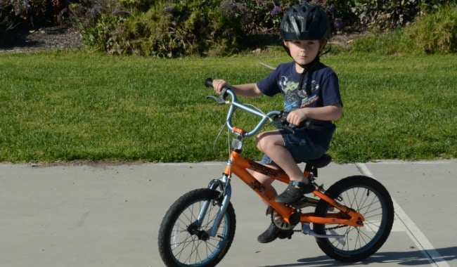 How to Teach Your Child To Ride a Bike Without Breaking Your Back