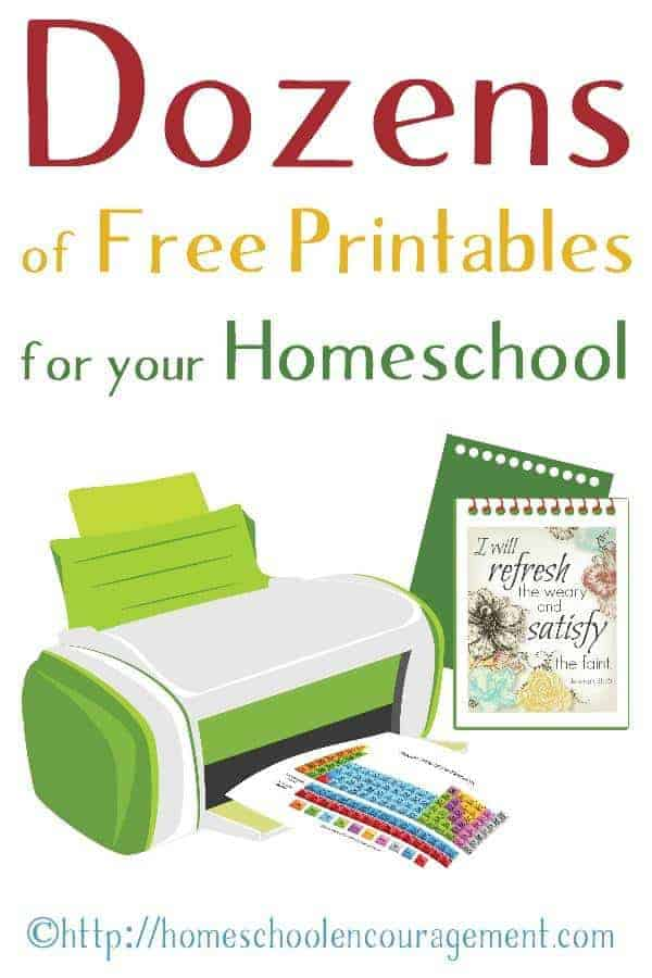 Free Printable Worksheets for Homeschool Learning – Homeschooling Worksheets