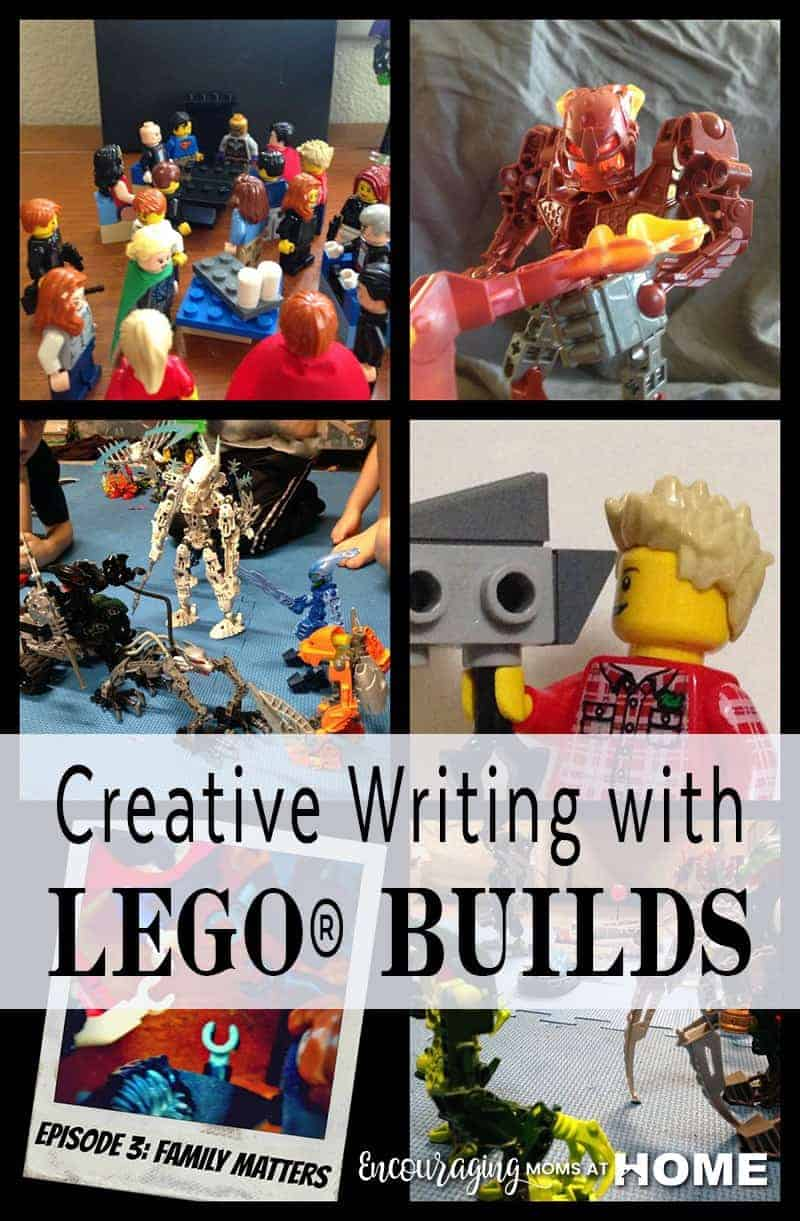Is your child struggling to write, or struggling to write cheerfully? Perhaps they just need to approach it differently? Try encouraging them to write about what they love.  Take a look at how we use LEGO Builds to get the creative writing process going.