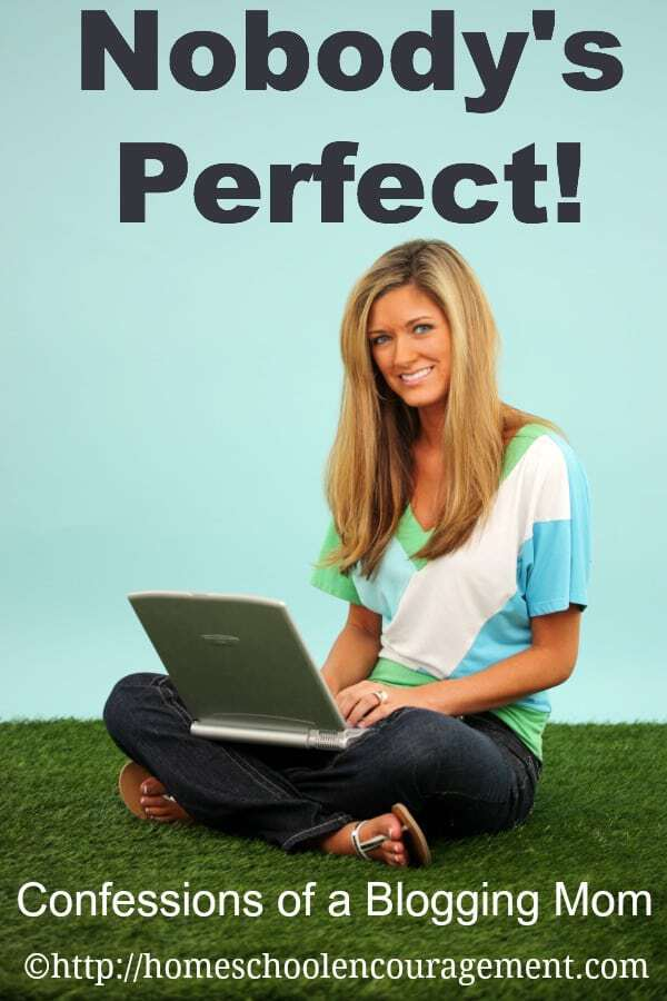 As a parent and a blogger, I am not perfect. I'd love to share with you about being imperfect and saved by grace.