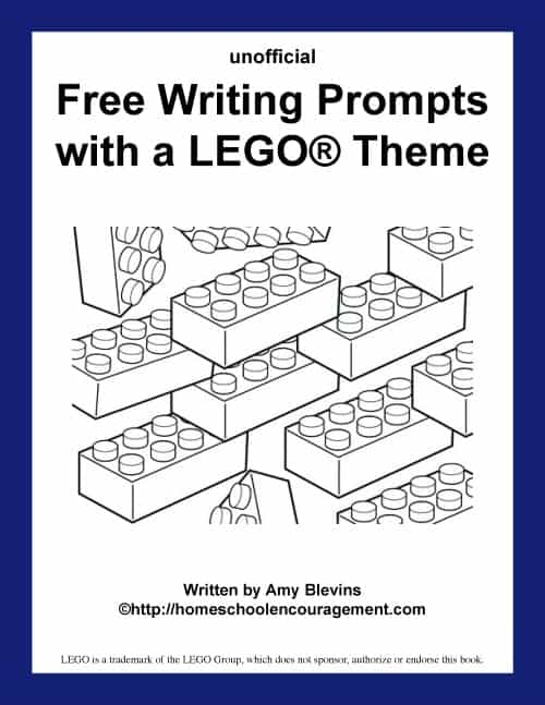 graphic about Printable Writing Prompts referred to as Cost-free Composing Prompts with a LEGO® Concept (Printables)