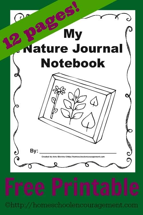 Do you love to get out into nature with your kids?  Why not make it a learning experience? Here are FREE printable journaling pages to help inspire your kids to learn more about the world around them.