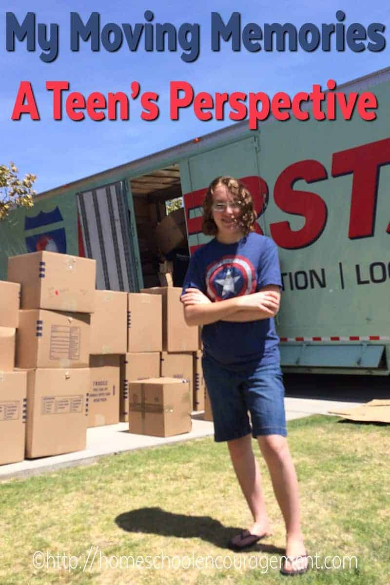 Has your family moved a lot?  Take a look at this perspective on moving from a teen who shares her thoughts on the benefits and challenges of moving.