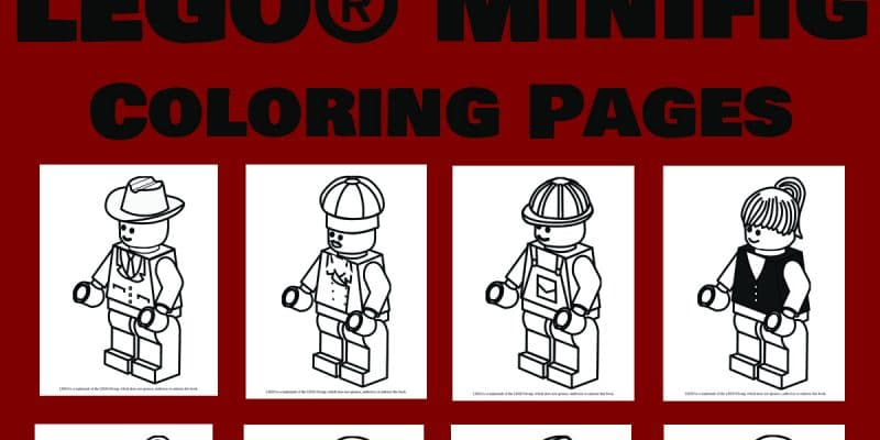 Free LEGO® Coloring Pages