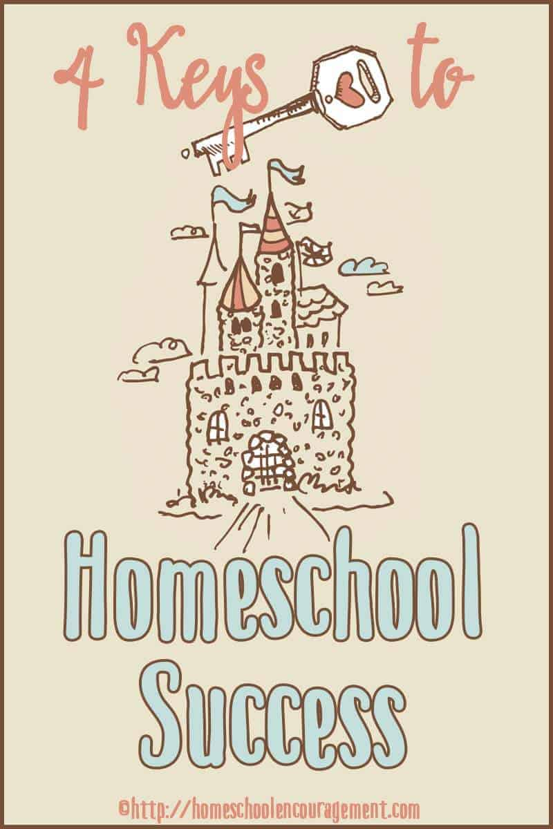 Veteran Homeschooling Mom shares Four Keys to Homeschool Success