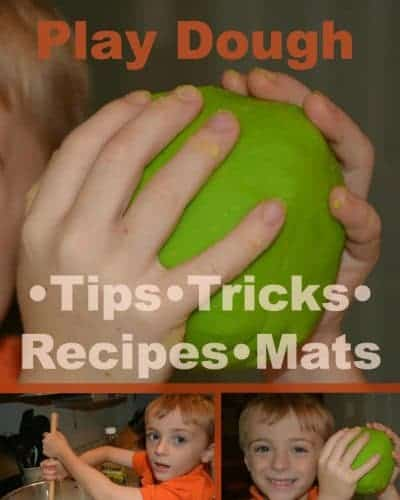How to Make Play Dough with 10+ recipes, 20 tips and tricks, 15 play dough mats and more!