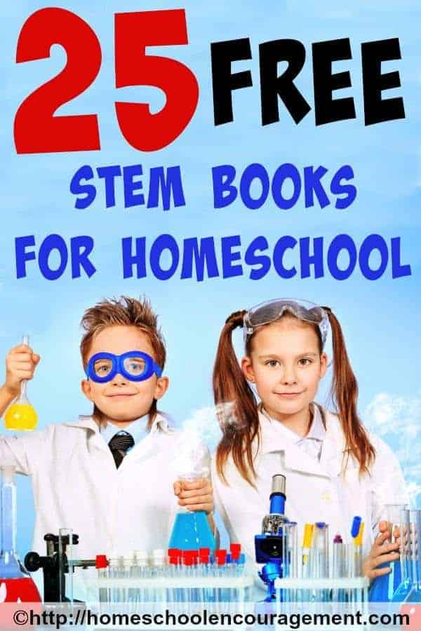 Free STEM Books for Homeschool - Totally Awesome List!