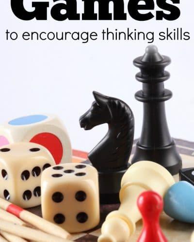 Games to encourage thinking skills