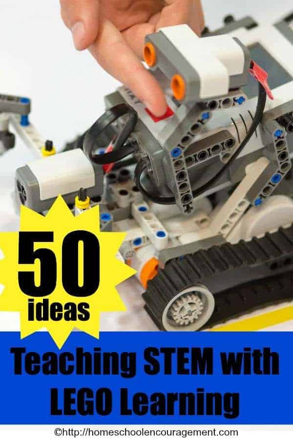 50+ Ideas, Free Printables, Activities, Lesson Plans, Toys and Books for teaching STEM with LEGO Learning