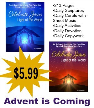 Advent is coming! Use this daily schedule of Scripture, songs, activities and more to celebrate Adve
