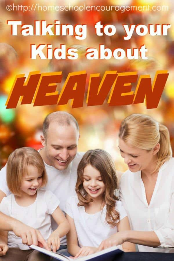 Kids are naturally curious about heaven. Help them develop a Biblical understanding as you follow up the Gospel message with a discussion about heaven.